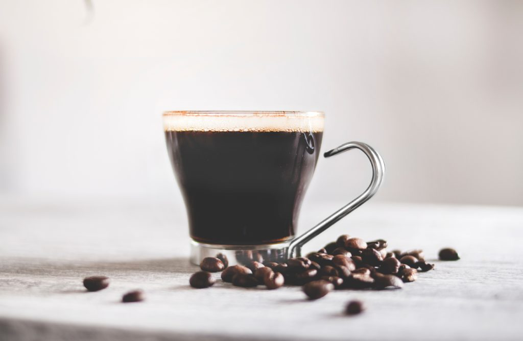 Drinking black coffee helps fasting