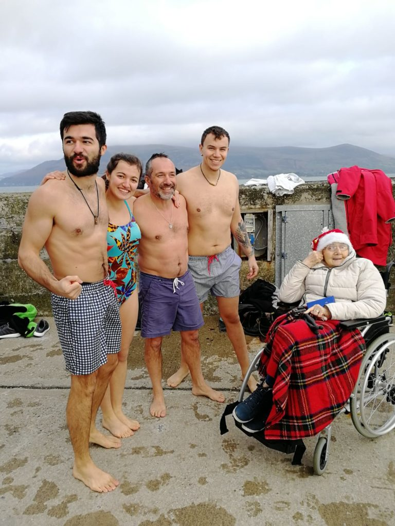 carlingford swim,wim hof method