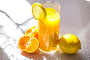 citrus fruit will boost your immune system.