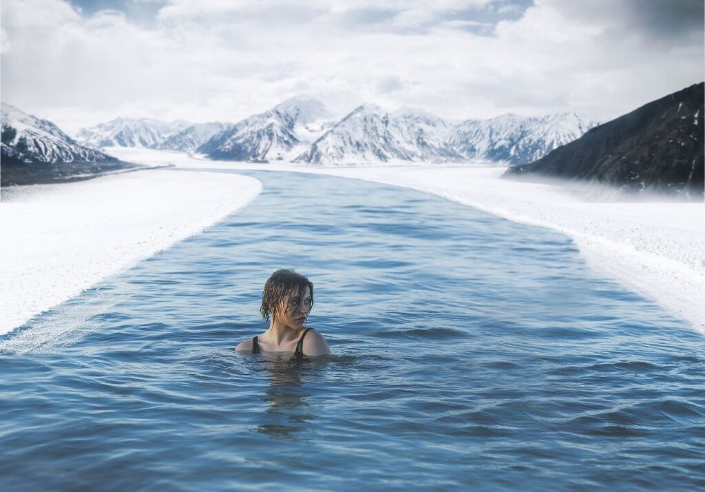 wim hof method cold water swimming